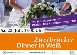 """Dinner in Weiß"" am perfekten Ort"