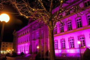 Licht und Feuer auf dem Zweibrücker Schlossplatz