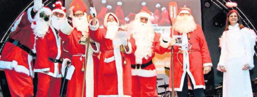 Zweibrücker Nikolaustreffen auf dem Alexanderplatz, Weihnachtsbühne
