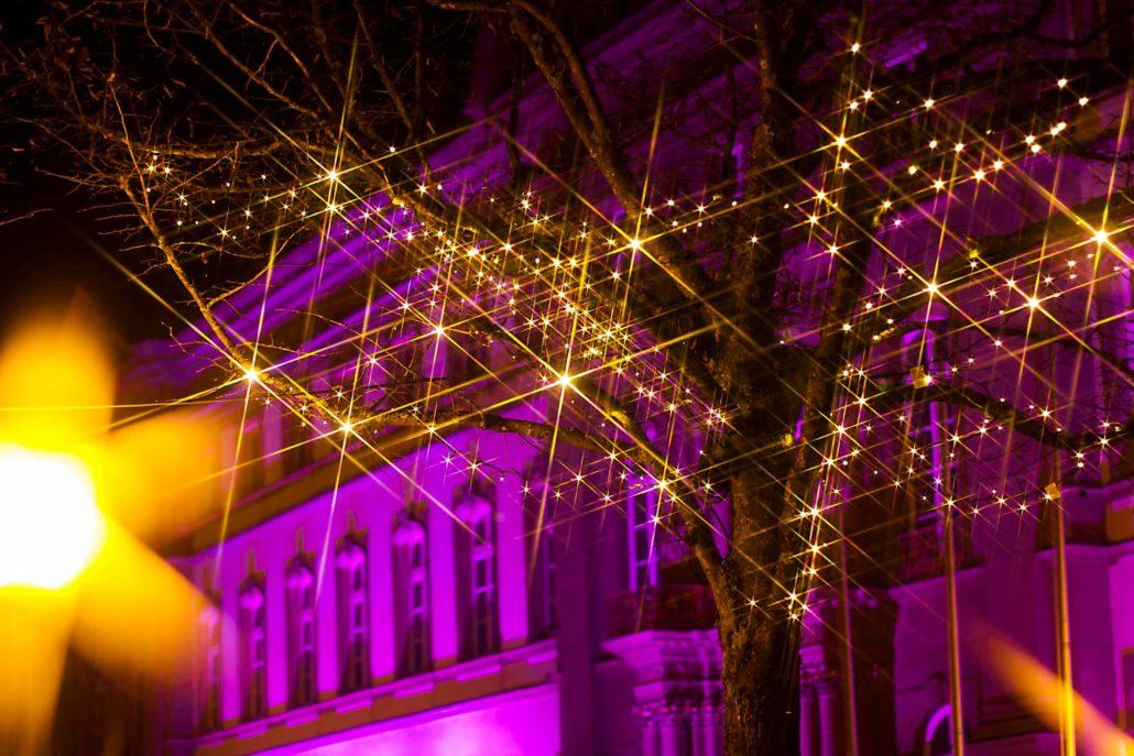 Zweibrücker Lichterfst auf dem Schlossplatz