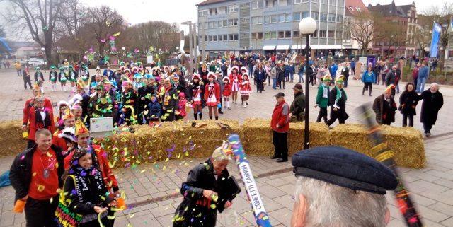Zweibrücker Faschingsvereine stürmen das Rathaus, 2018