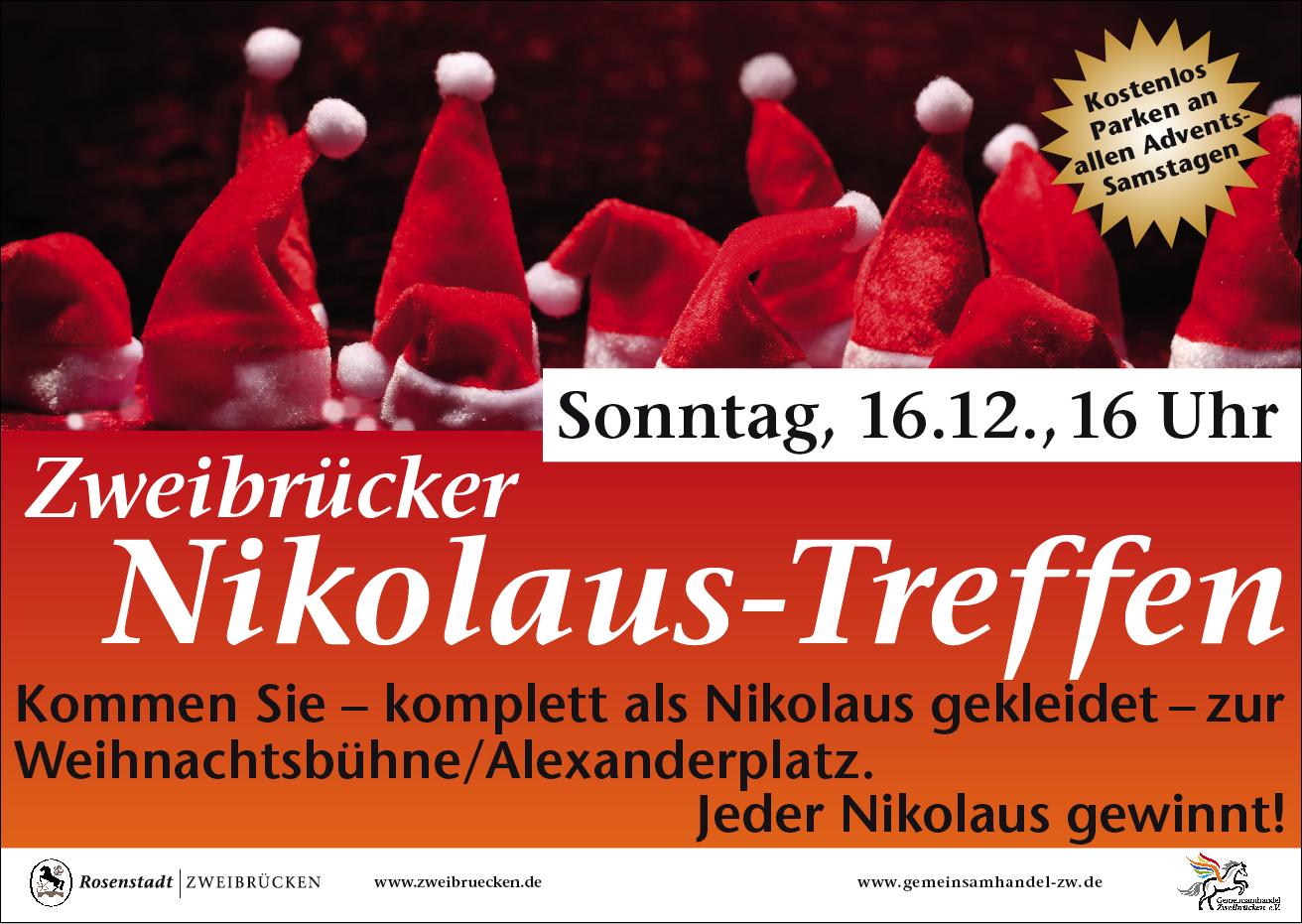 Großes Zweibrücker Nikolaustreffen - Gemeinsam handeln