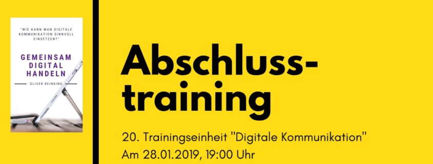 Abschlusstraining Digitale Kommunikation