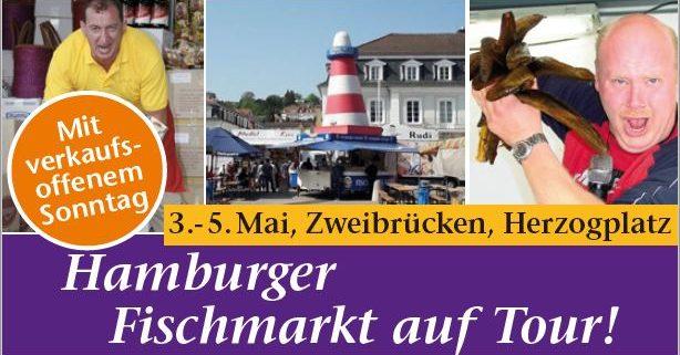 Hamburger Fischmarkt 3. bis 5. Mai + VOS am 5. Mai