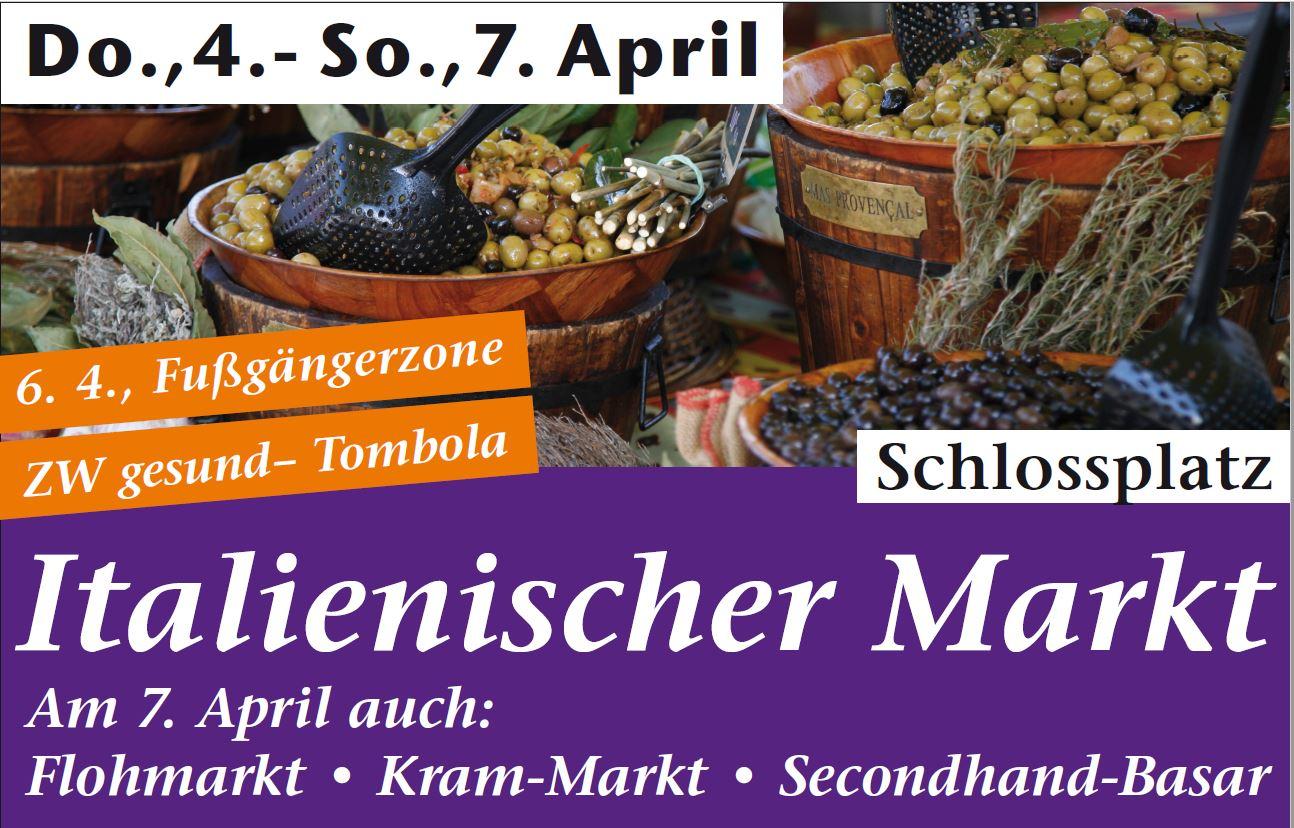 Italienischer Markt in Zweibrücken