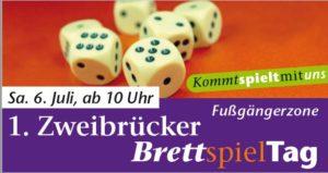 1. Zweibrücker Brettspieltag 2019