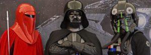 Besuch von Darth Vader, Capt´n Sharky …