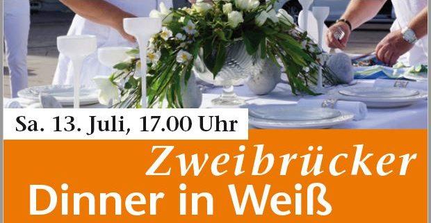13. Juli 2019, Zweibrücker Dinner in Weiß 2019