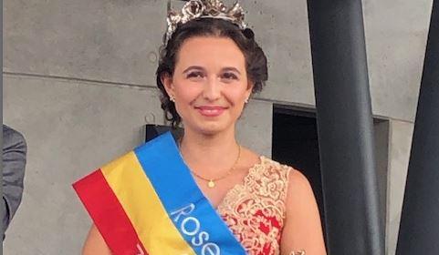 Rosenkönigin Annika I.