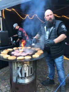 Streetfood Festival auf dem Schlossplatz