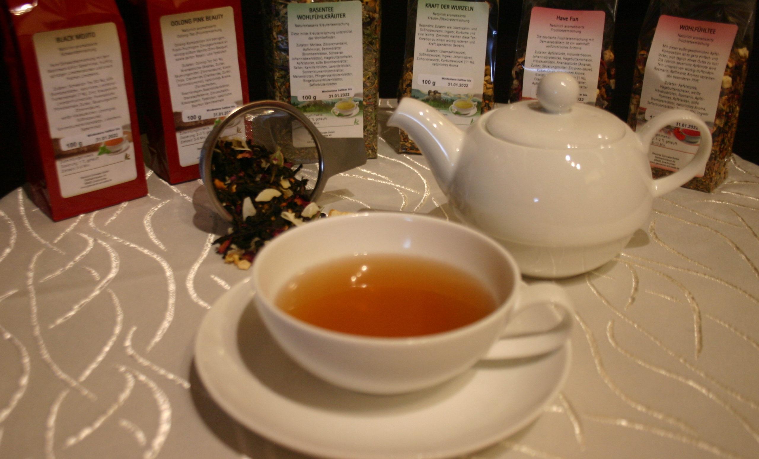 You are currently viewing Verkostung neuer Teesorten bei Gewürze Schwabe