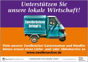 """Reaktivierung """"Zweibrücken bringt´s"""" – Handel/Dienstleistung"""