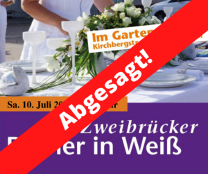 Read more about the article ABGESAGT: Dinner in Weiß 2021